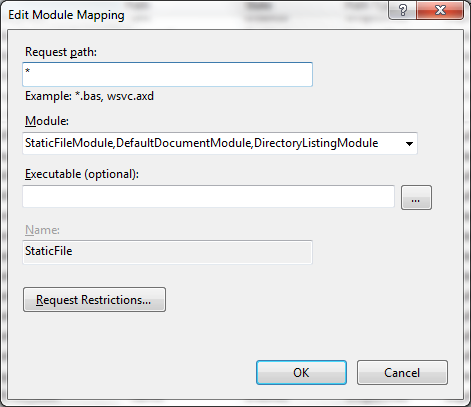 Handler mappings